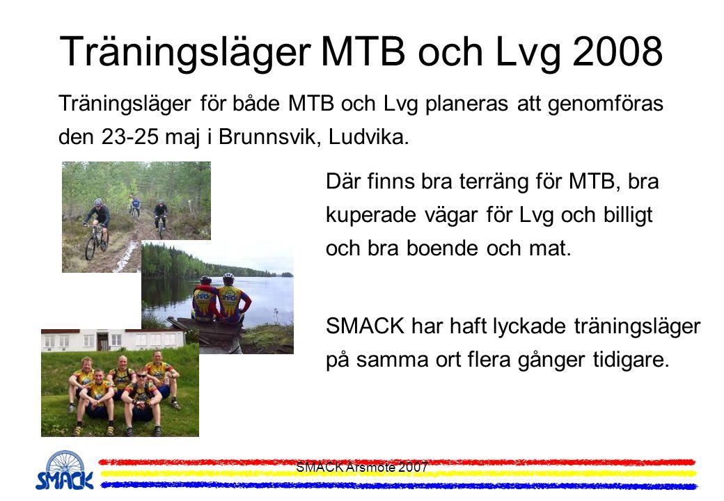 Träningsläger MTB och Lvg 2008