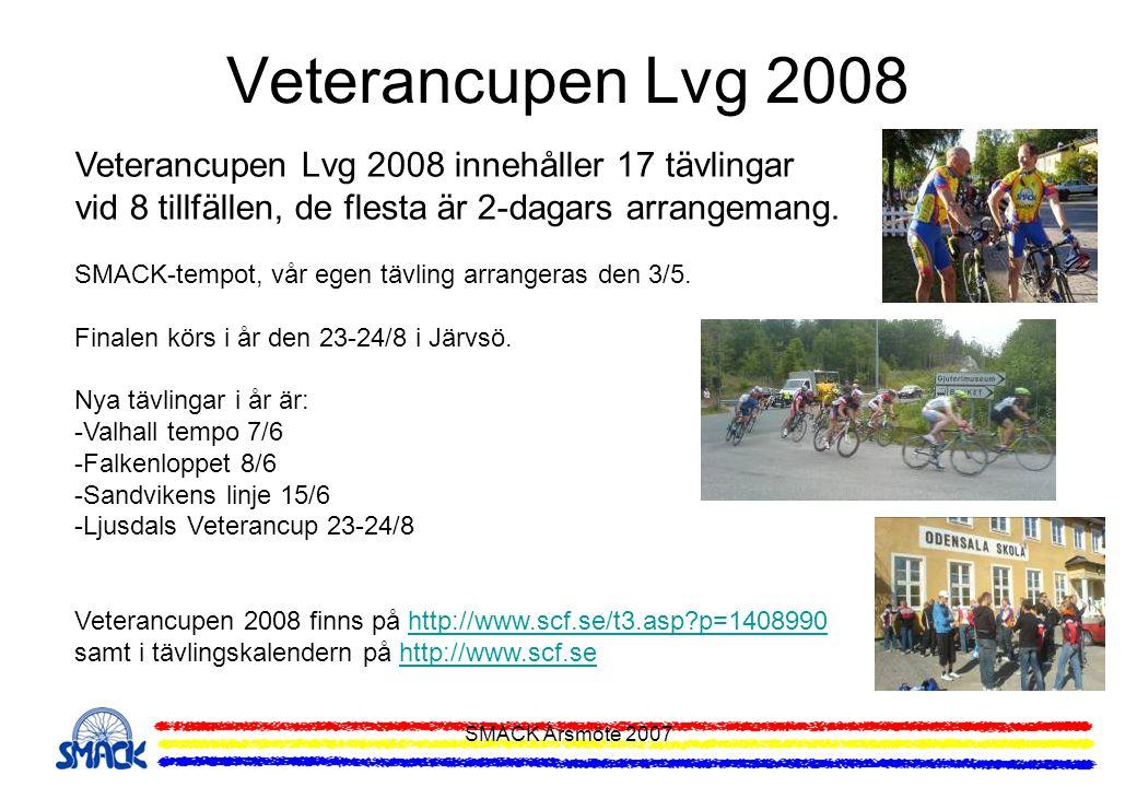 Veterancupen Lvg 2008 Veterancupen Lvg 2008 innehåller 17 tävlingar