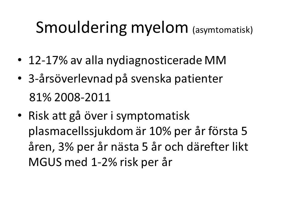 Smouldering myelom (asymtomatisk)