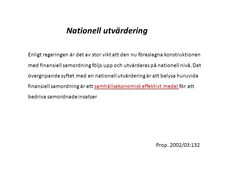 Nationell utvärdering