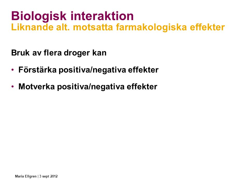 Biologisk interaktion