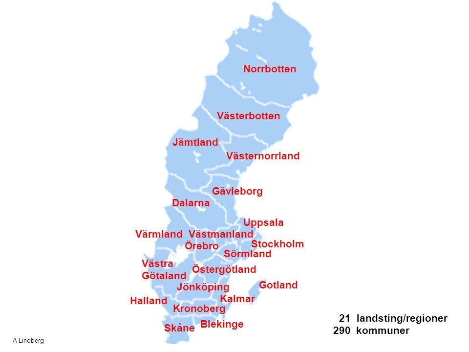 Norrbotten Västerbotten Jämtland Västernorrland Gävleborg Dalarna