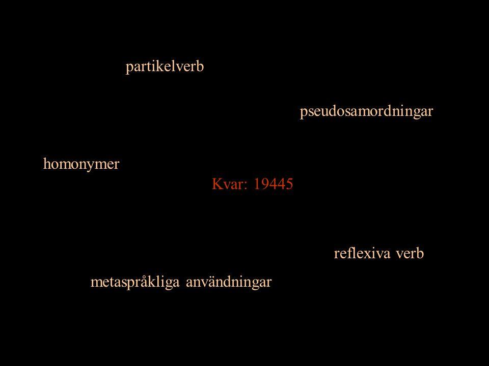 metaspråkliga användningar