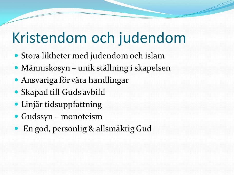 Kristendom och judendom