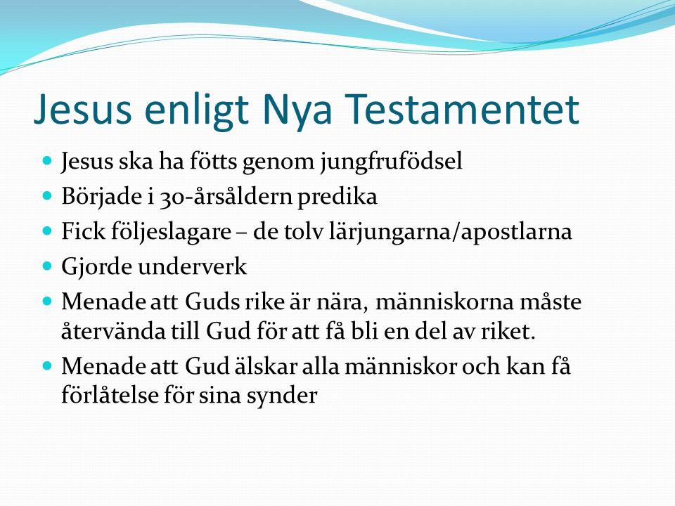 Jesus enligt Nya Testamentet