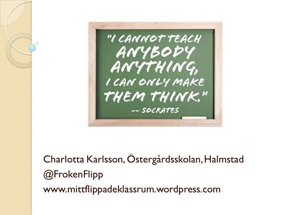 Charlotta Karlsson, Östergårdsskolan, Halmstad