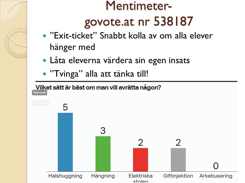 Mentimeter- govote.at nr 538187