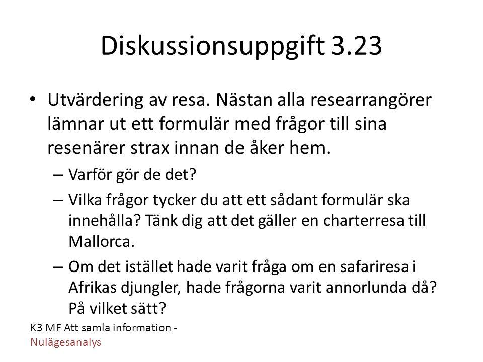Diskussionsuppgift 3.23
