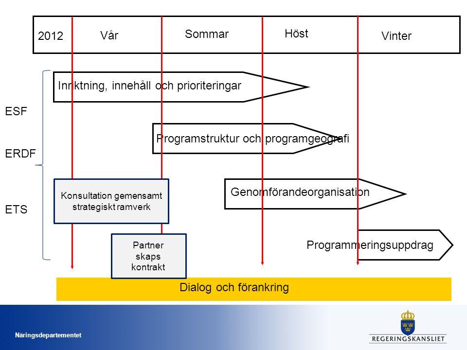 Konsultation gemensamt strategiskt ramverk