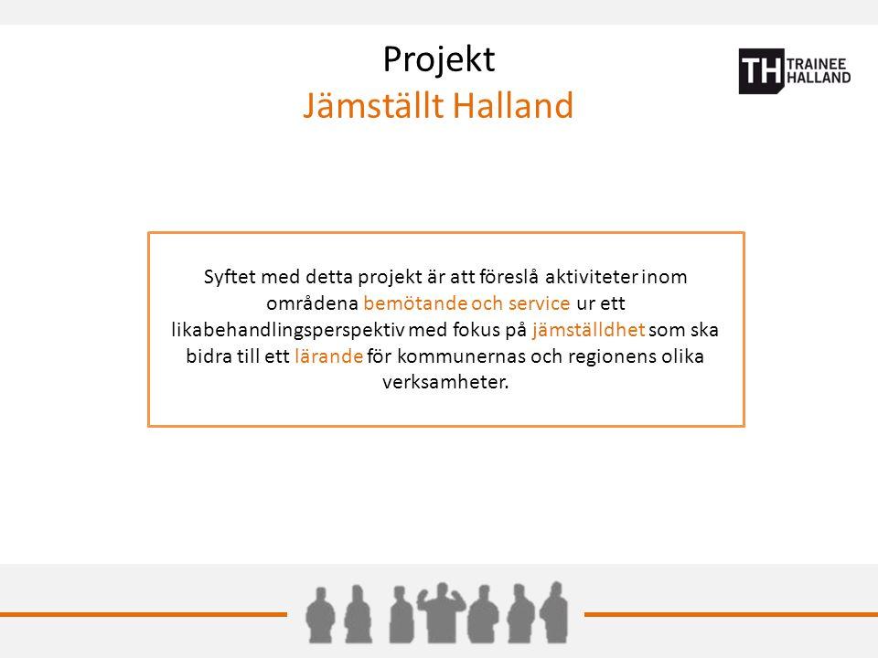 Projekt Jämställt Halland