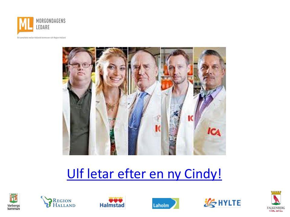 Ulf letar efter en ny Cindy!
