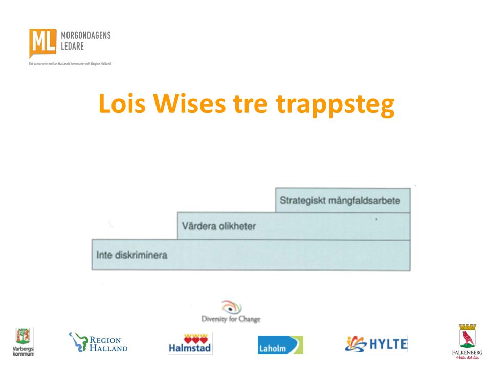 Lois Wises tre trappsteg