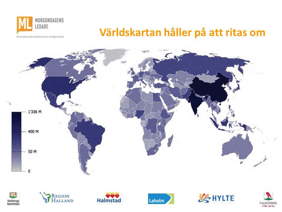 Världskartan håller på att ritas om
