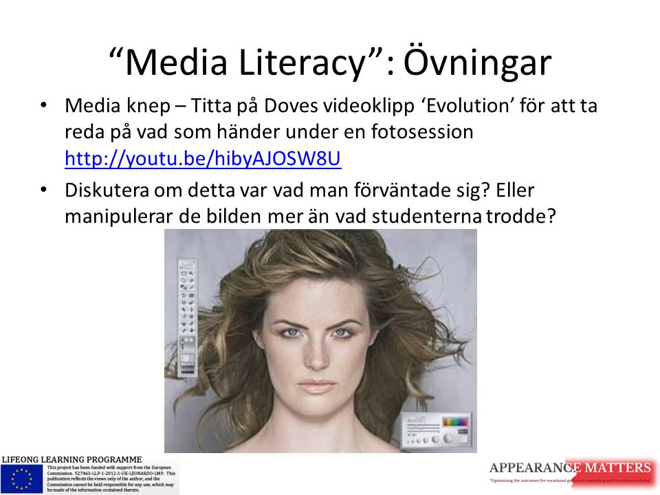 Media Literacy : Övningar