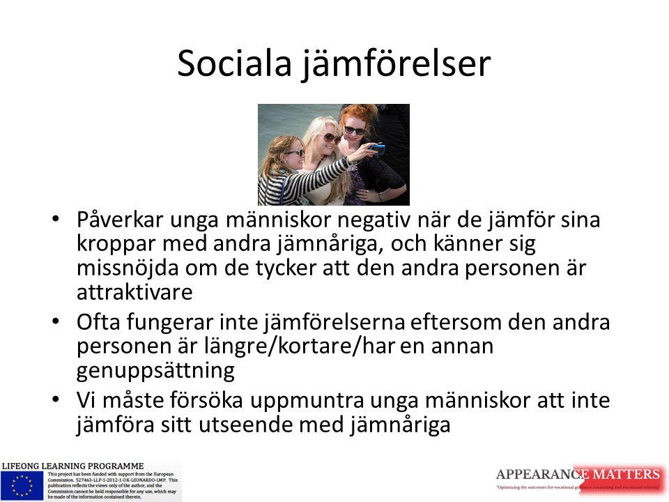 Sociala jämförelser