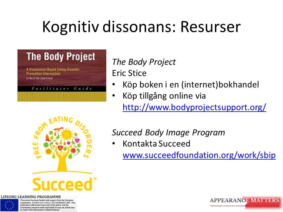 Kognitiv dissonans: Resurser