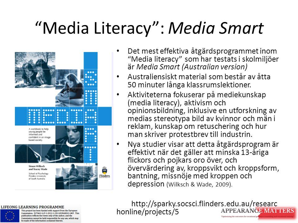 Media Literacy : Media Smart