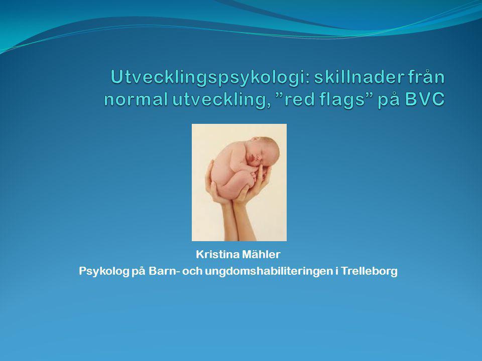 Psykolog på Barn- och ungdomshabiliteringen i Trelleborg