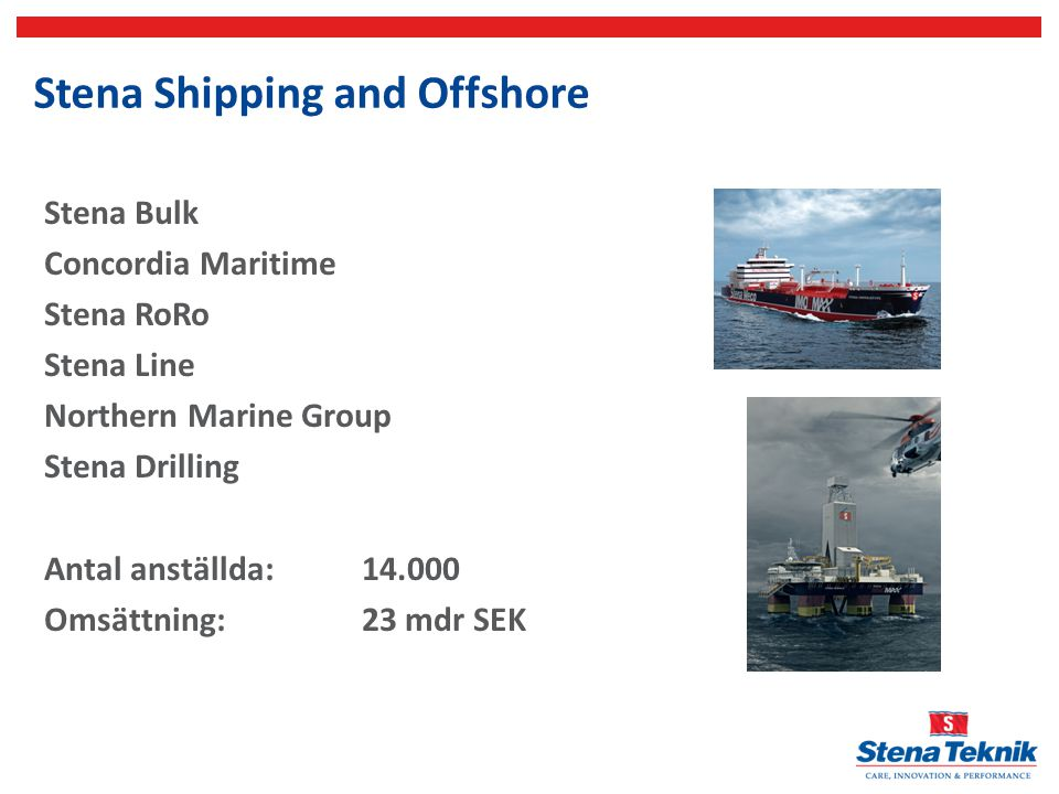 Stena Shipping and Offshore