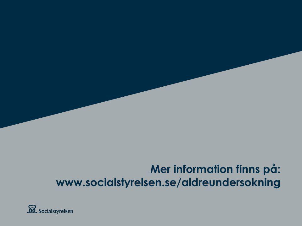 Mer information finns på: