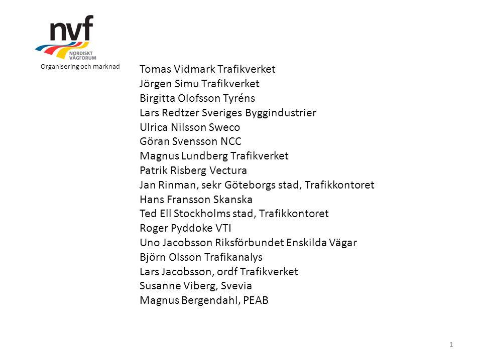 Tomas Vidmark Trafikverket Jörgen Simu Trafikverket