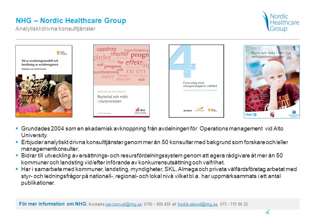 NHG – Nordic Healthcare Group