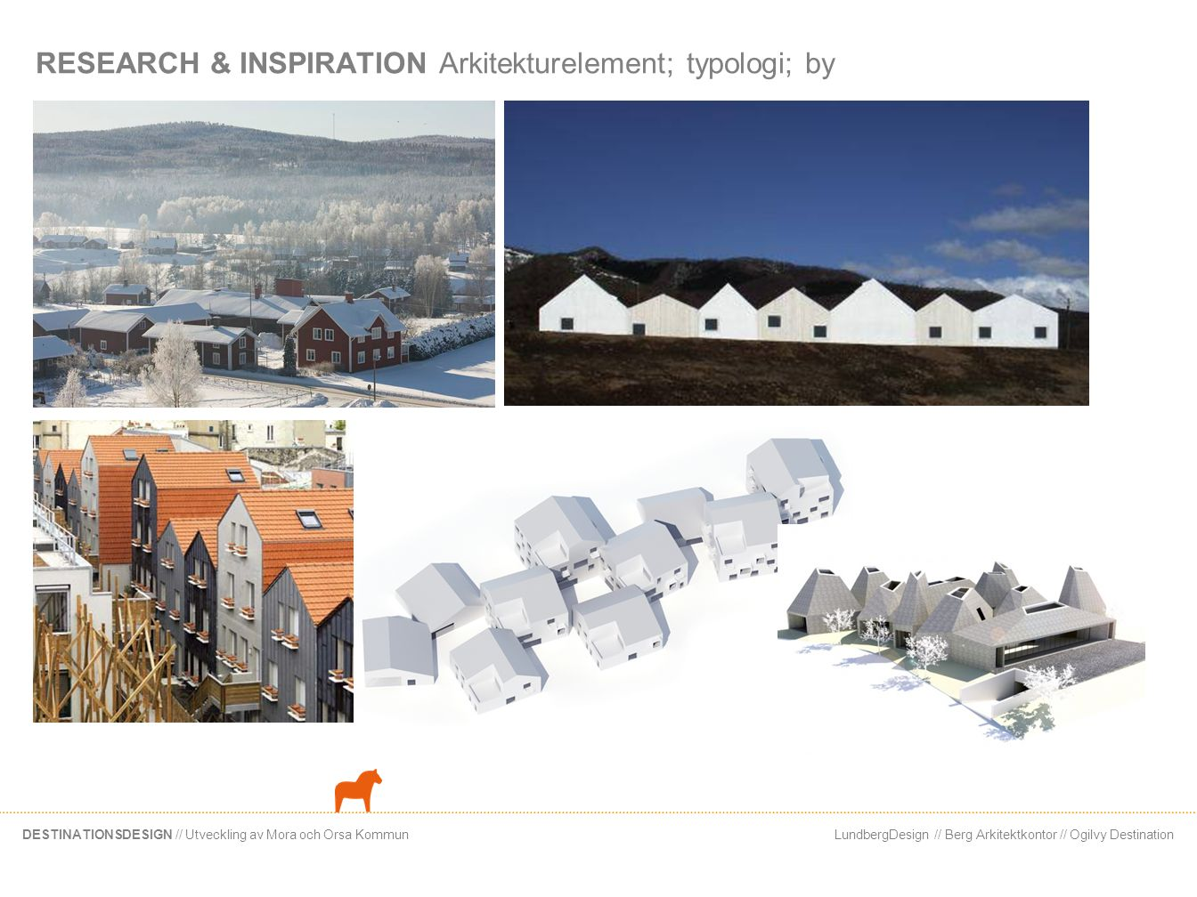 RESEARCH & INSPIRATION Arkitekturelement; typologi; by