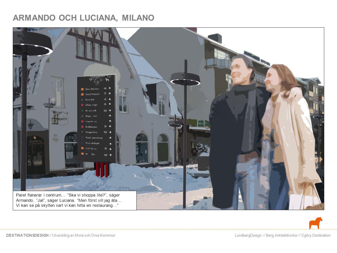ARMANDO OCH LUCIANA, MILANO