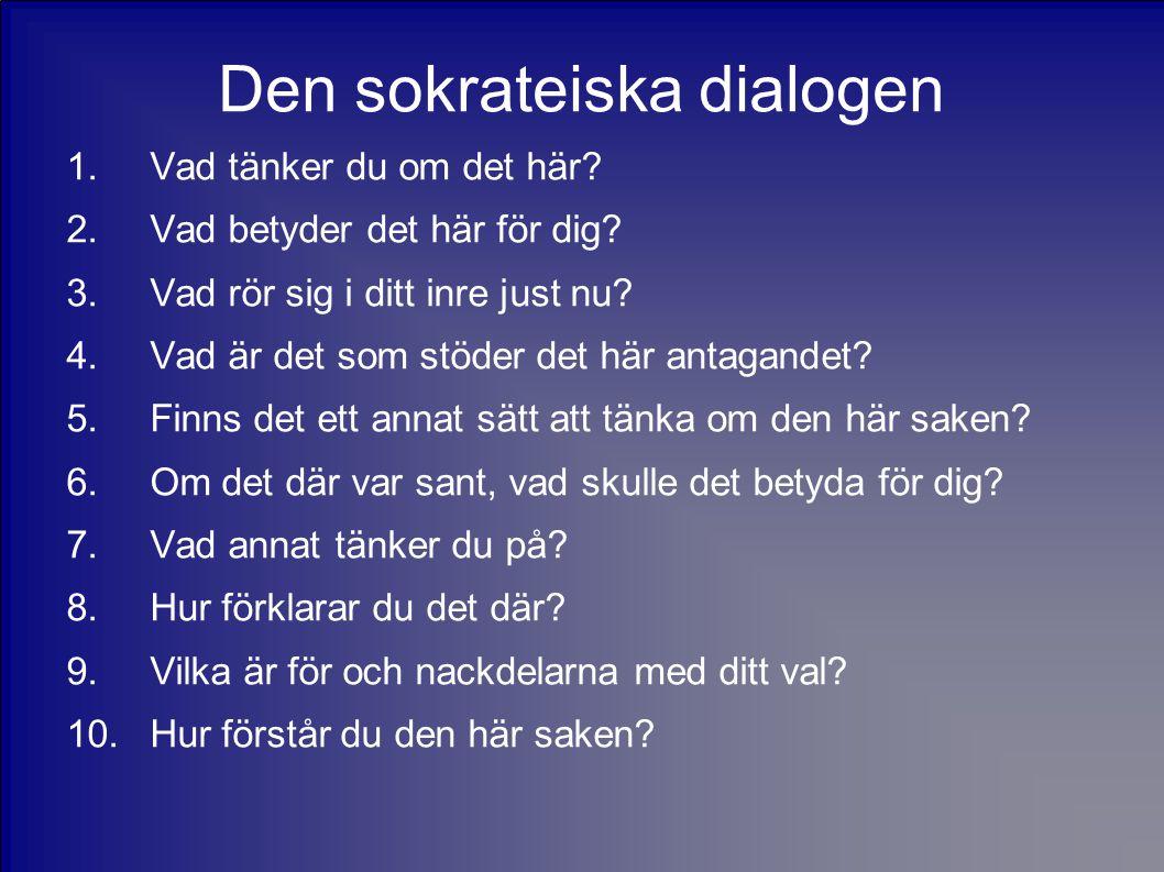 Den sokrateiska dialogen