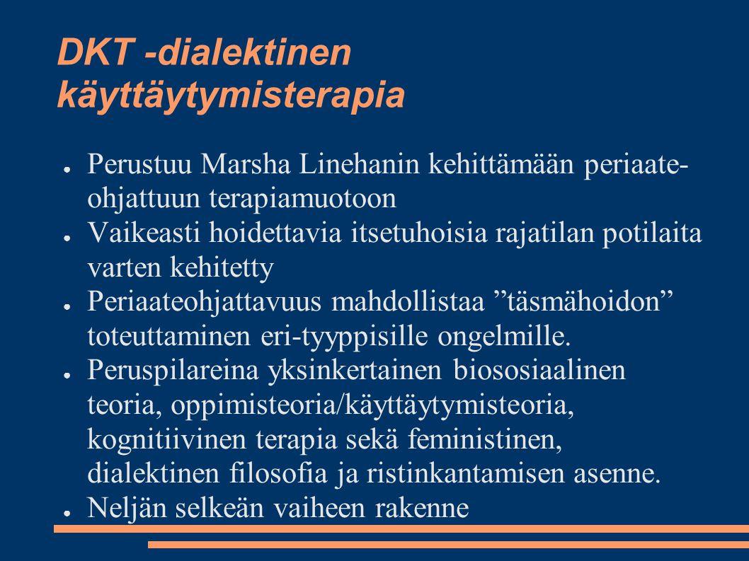 DKT -dialektinen käyttäytymisterapia
