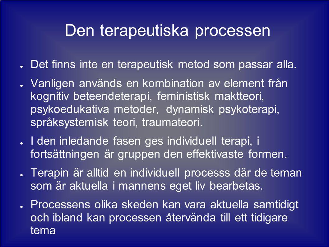 Den terapeutiska processen