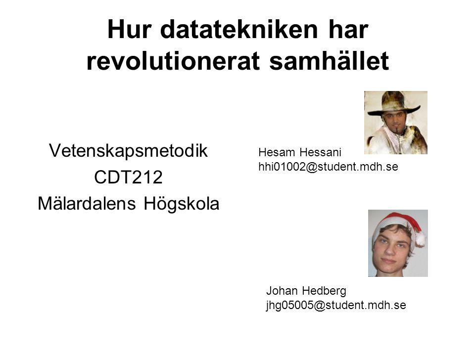 Hur datatekniken har revolutionerat samhället