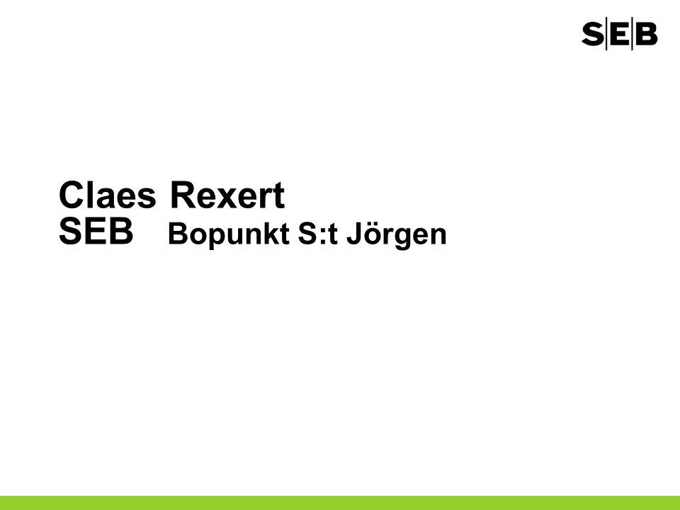Claes Rexert SEB Bopunkt S:t Jörgen