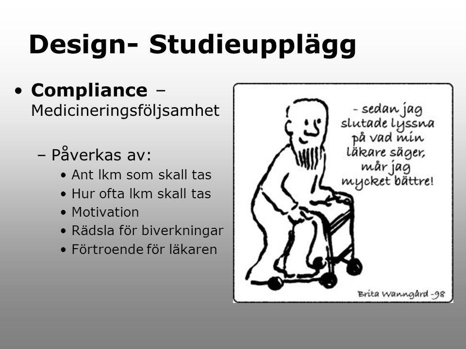 Design- Studieupplägg