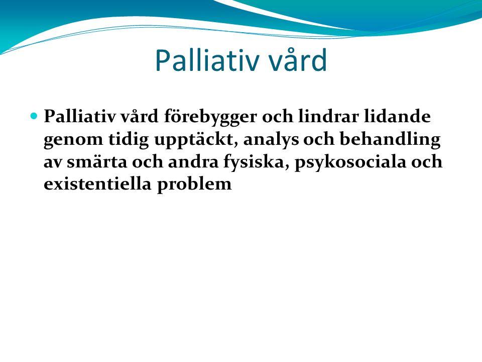 2828 Palliativ vård.