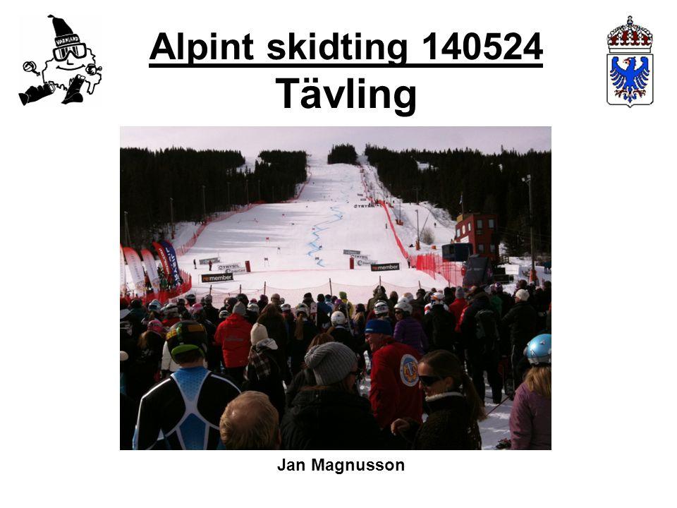 Alpint skidting 140524 Tävling Jan Magnusson
