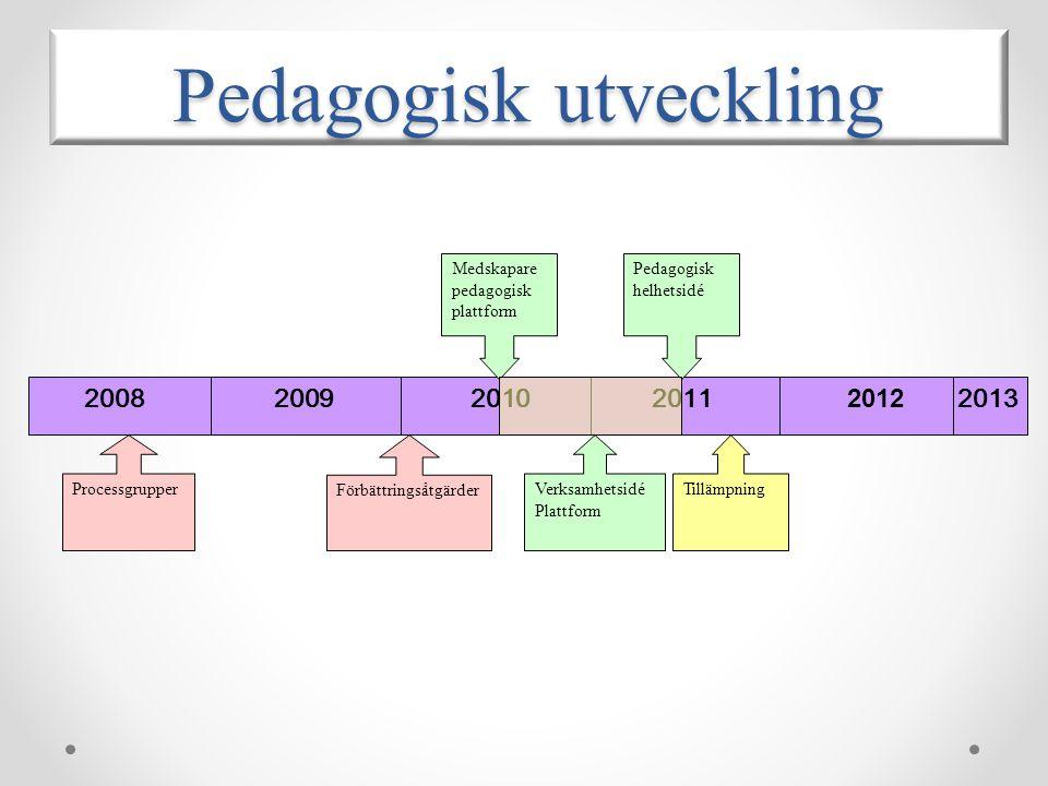 Pedagogisk utveckling