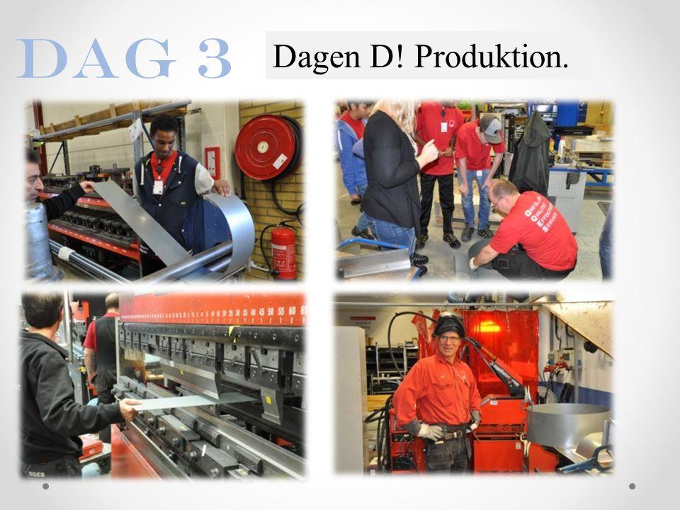 Dag 3 Dagen D! Produktion.
