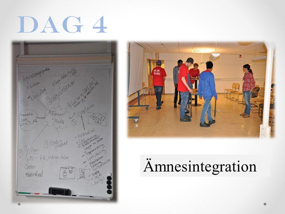 Dag 4 Ämnesintegration