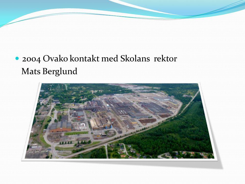 2004 Ovako kontakt med Skolans rektor