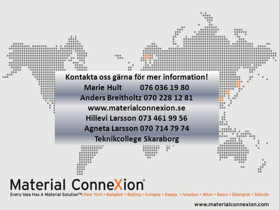 Kontakta oss gärna för mer information! Teknikcollege Skaraborg