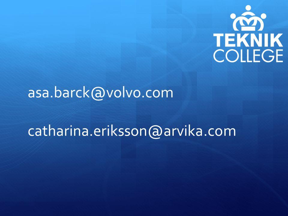 asa.barck@volvo.com catharina.eriksson@arvika.com