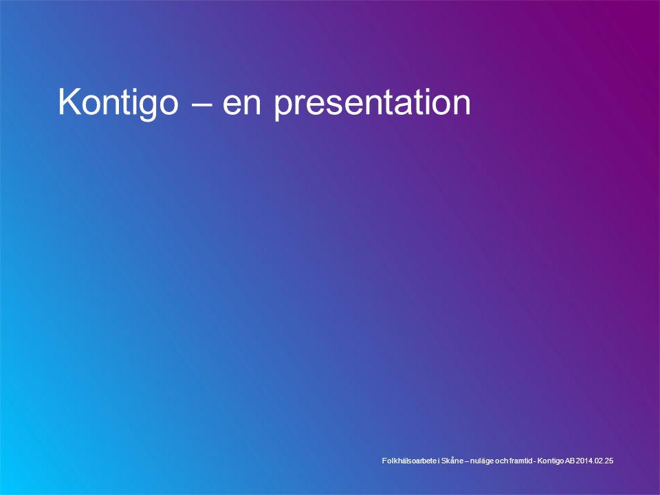 Kontigo – en presentation