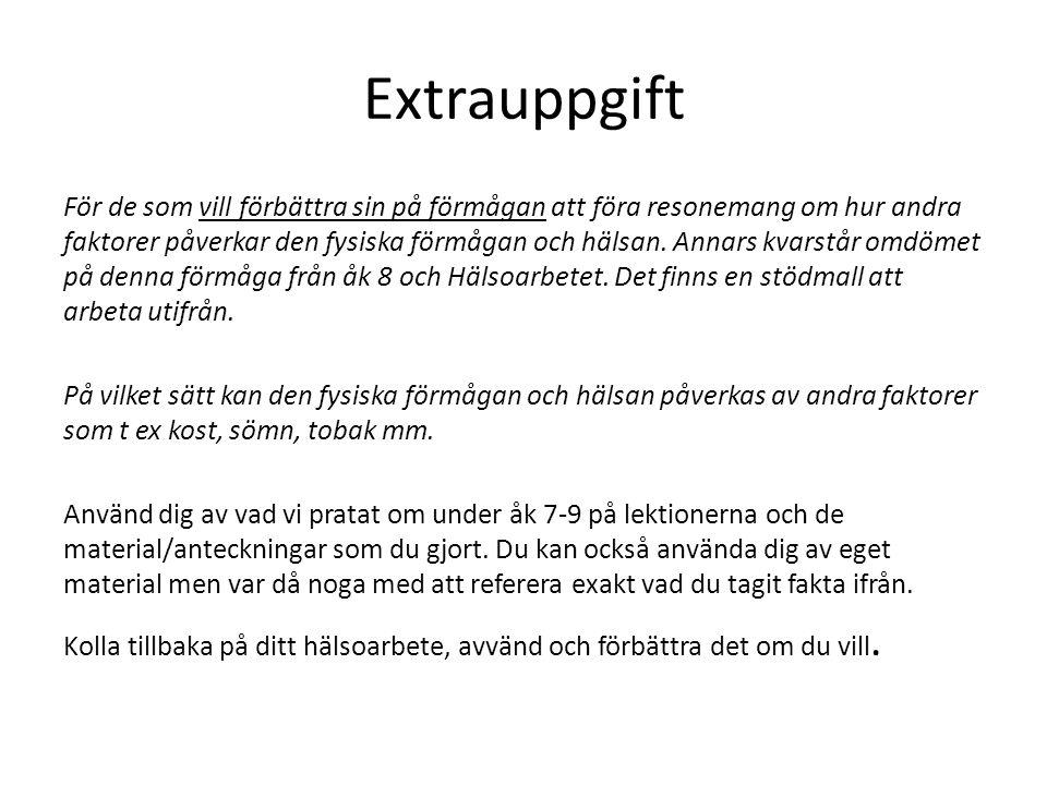 Extrauppgift