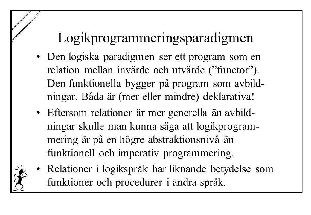 Logikprogrammeringsparadigmen