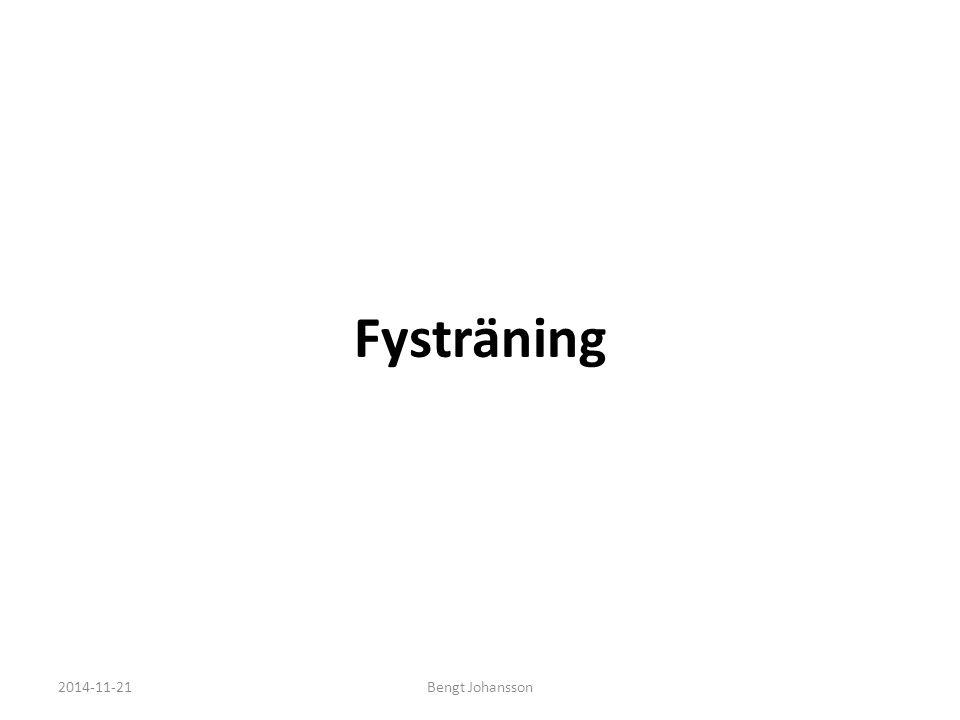 Fysträning 2017-04-07 Bengt Johansson