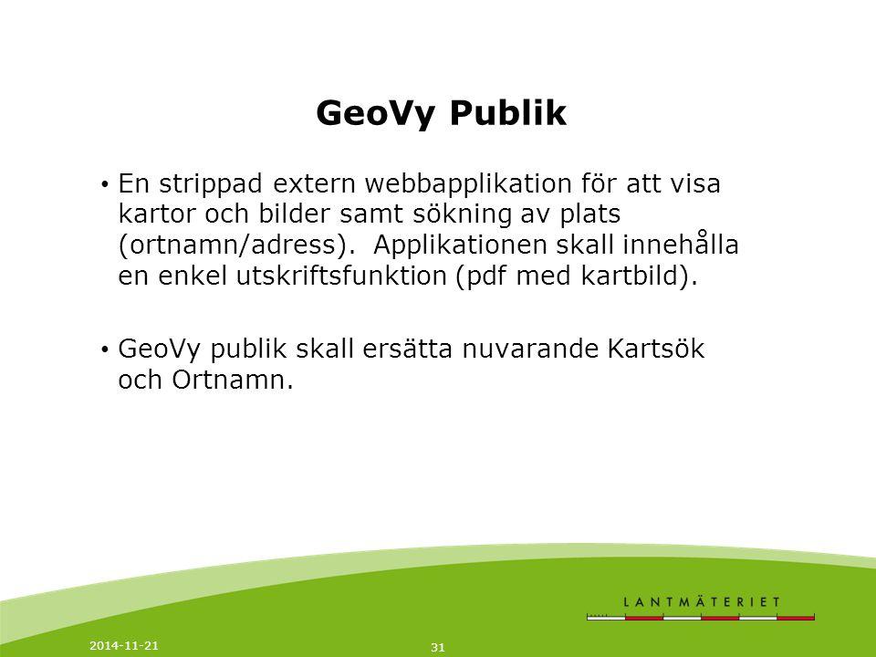GeoVy Publik