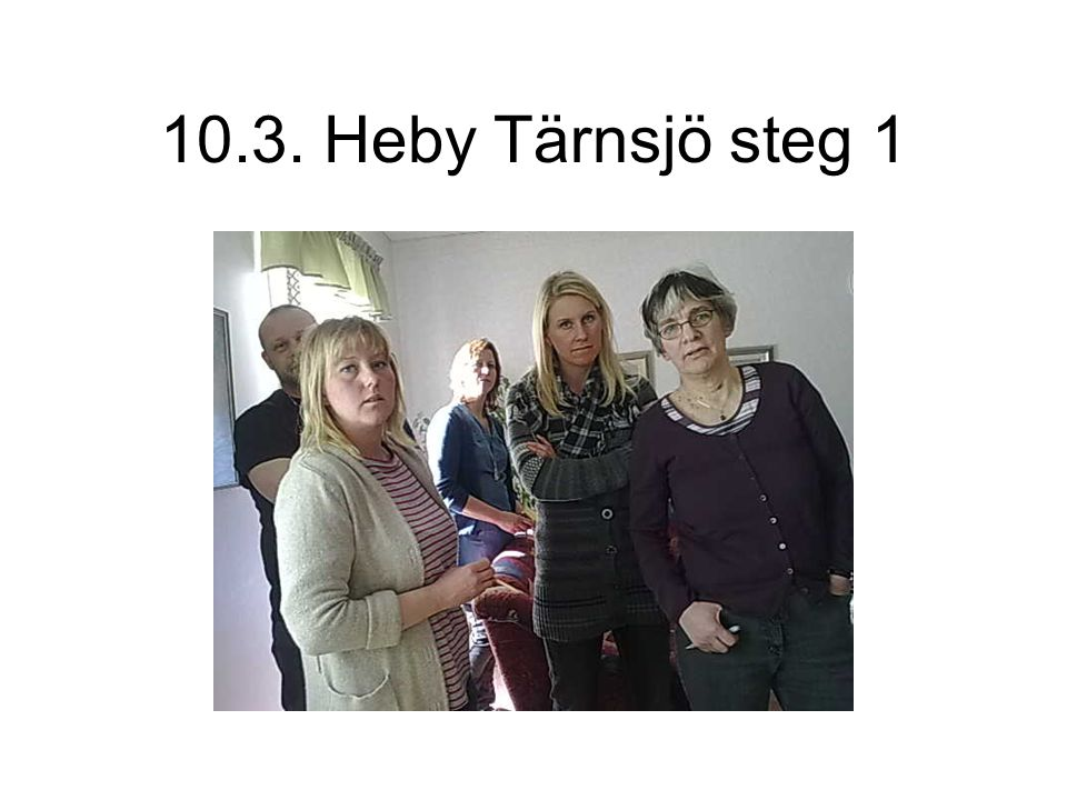 10.3. Heby Tärnsjö steg 1
