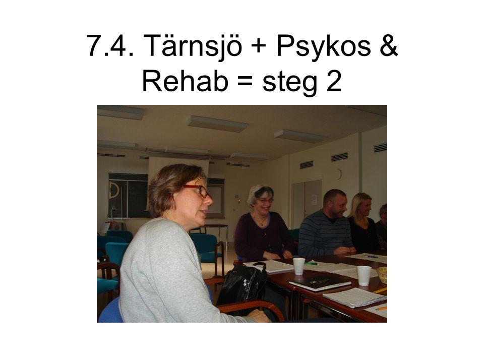 7.4. Tärnsjö + Psykos & Rehab = steg 2