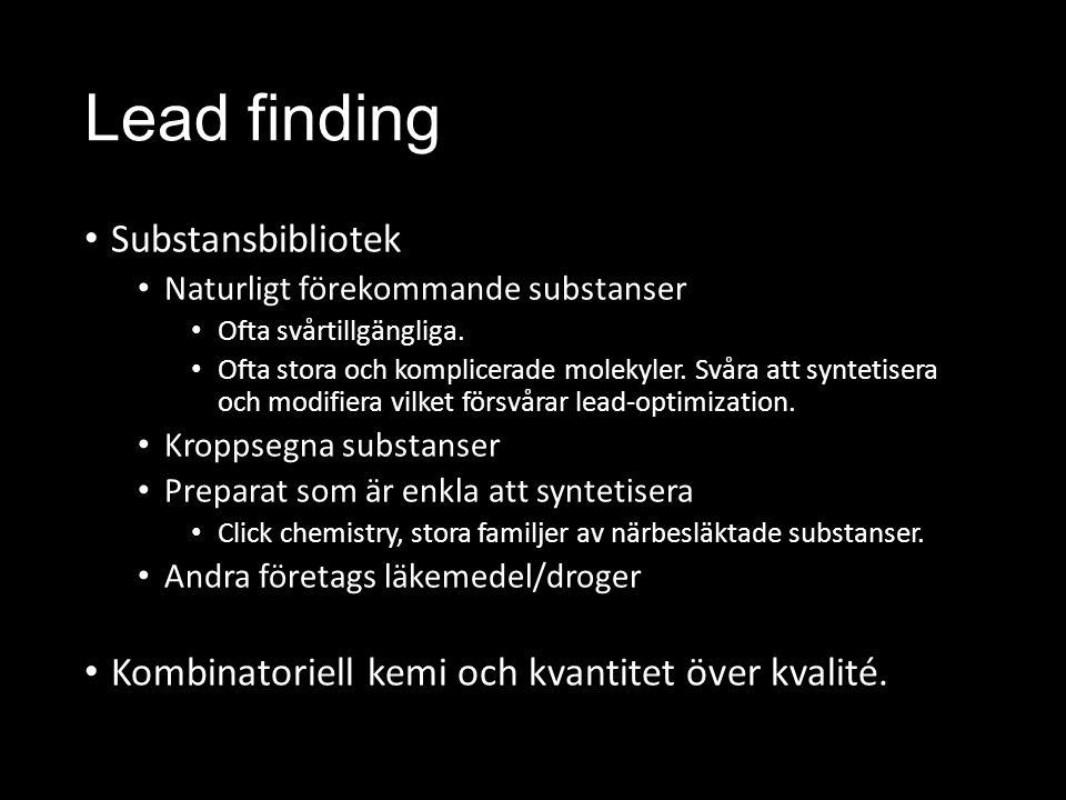 Lead finding Substansbibliotek